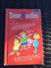 DEAR BEATLES BOOK BILL ADLER, (1st ed, hardcover, illus) ORIGINAL