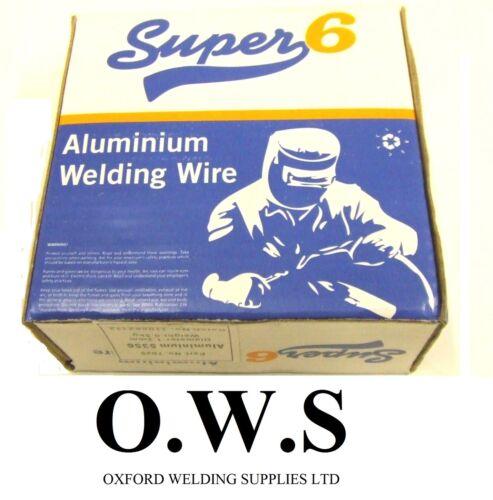 1.2mm X 0.5kg Super 6 Aluminium Fil de Soudure Mig 4043A