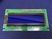 EVERBOUQUET  MC16021E8-SBLW  **USED** Alphanumeric LCD, 16 x 2, White on Blue