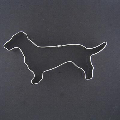 "DACHSHUND 5"" METAL COOKIE CUTTER DOG PET TREATSANIMAL FONDANT WEINER PARTY FAVOR"