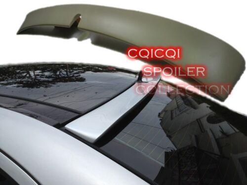 Painted BENZ 2002-2006 W211 pre-facelift E Sedan L type roof spoiler color:744 ◎
