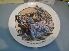 1981 Remarkable World Of Charles Dickens Collector Plate Scrooge & Marley Ghost
