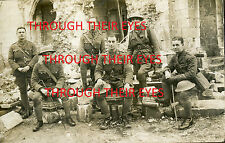 DVDSCANS WW1 PHOTO ALBUM 18th HIGHLAND LIGHT INFANTRY & 5th CAMERON HIGHLANDERS