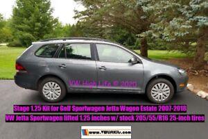 Lift Kit for VW Golf Sportwagen Jetta Wagon Estate MK5 MK6 1.25 inch Spacer Kit