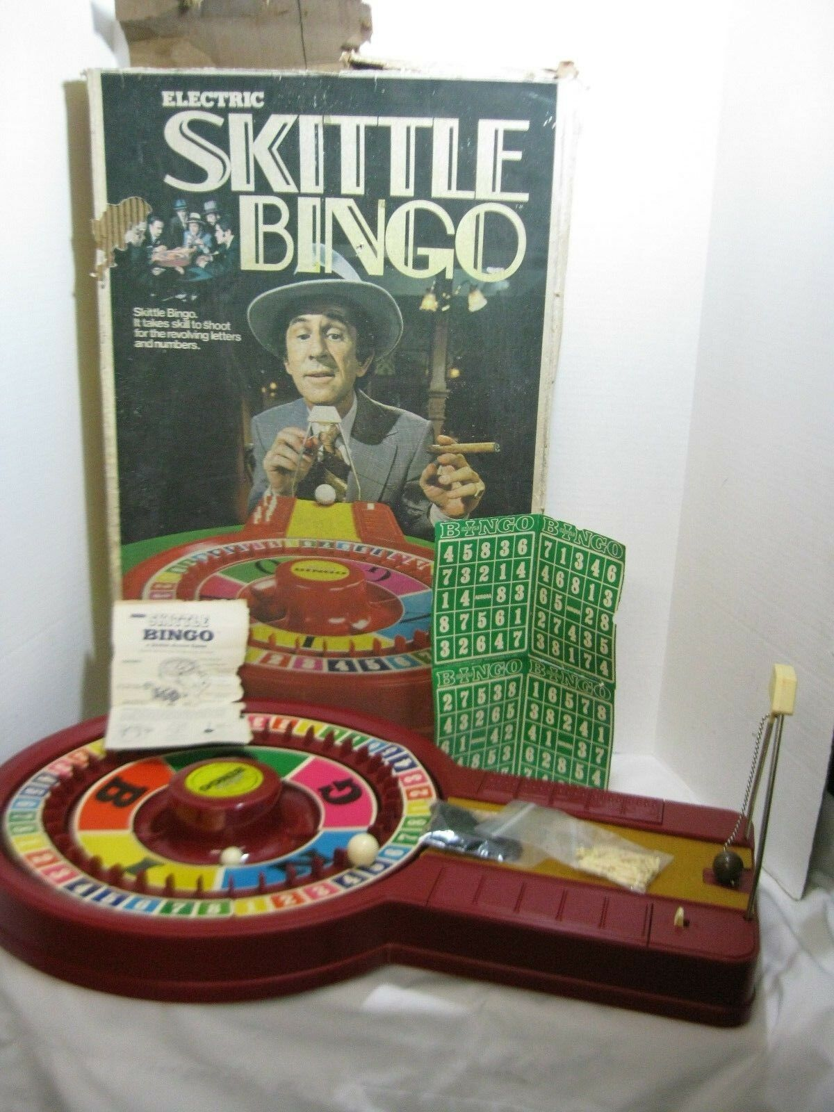 Vintage - aurora skittle bingo don adams' smart1973 original - box
