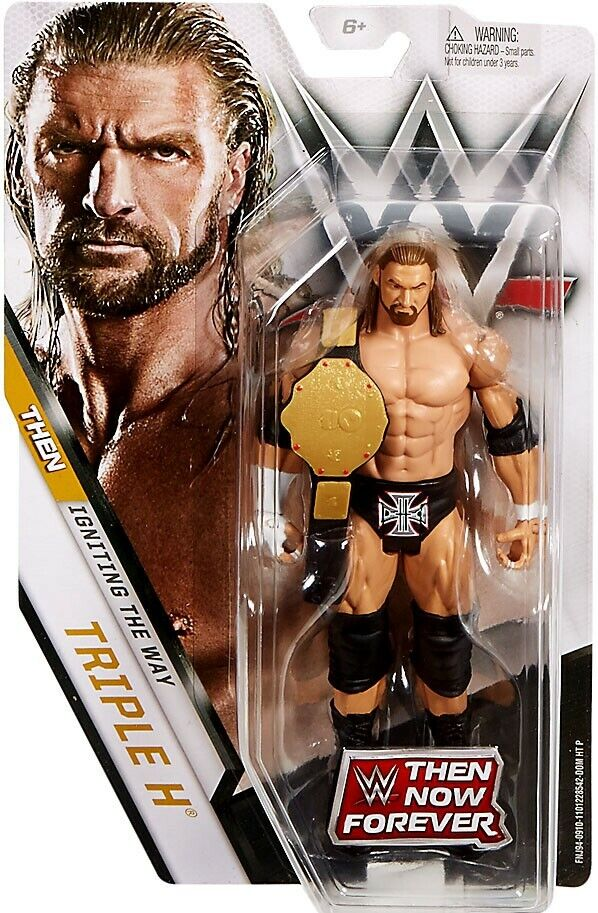 WWE Wrestling Wrestling Wrestling Then Now Forever Triple H Exclusive Action Figure 97b6cf