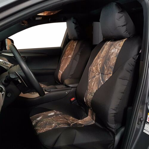 2pcs New Front Camo Waterproof Canvas Car Seat Covers For Tacoma TRD 1999 on