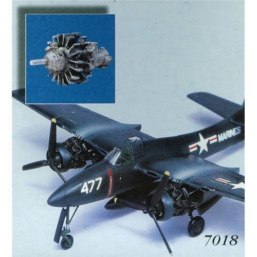 AIRES F7F-3 TIGERCAT detail set 1:72 AI7018x
