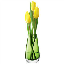 LSA Flower Colour Bud Vase H14cm - Lime