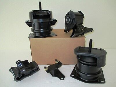 Motor Mounts 2 PPCS Replacement for 2000-2003 Acura TL Type-S 3.2L V6 Hydraulic