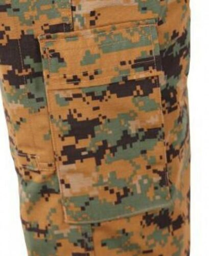 PROPPER MARPAT Army Woodland Digital USMC ACU Combat Battle Rip Hose pants XLL Funsport
