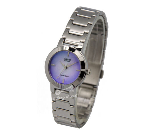 1 of 1 - -Casio LTP1191A-2C Ladies' Metal Fashion Watch Brand New & 100% Authentic