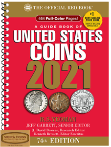 2021-RED-BOOK-PRICE-GUIDE-U-S-COINS-SPIRAL