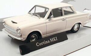 Cararama 1/43 modello auto scala 417040-FORD CORTINA Mk1-Bianco