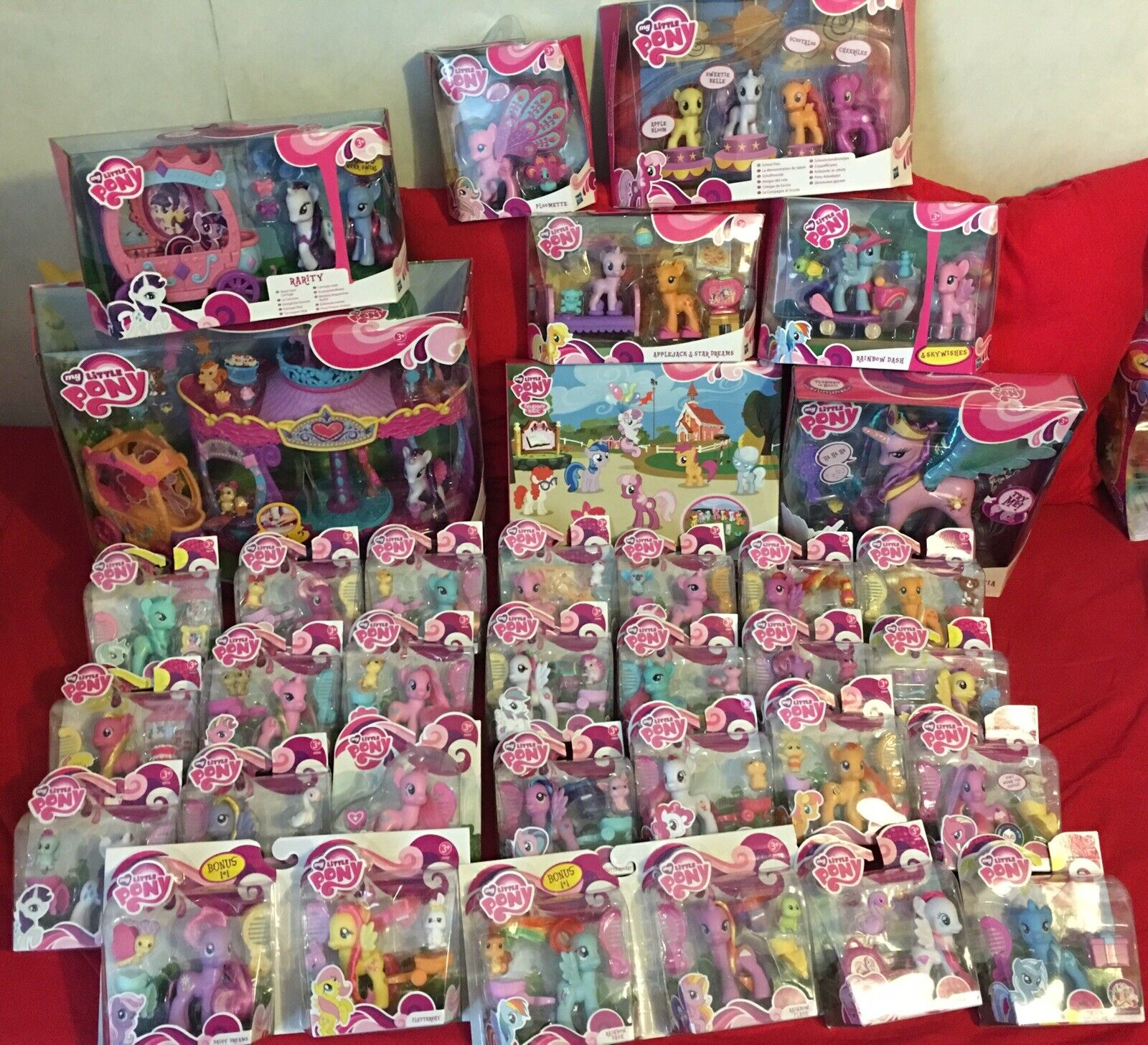 My little pony -G4 1ºwave- Amazing Amazing Amazing Lot of Pony Hasbro, BRe nuovo VERY VERY RARE fff1a8