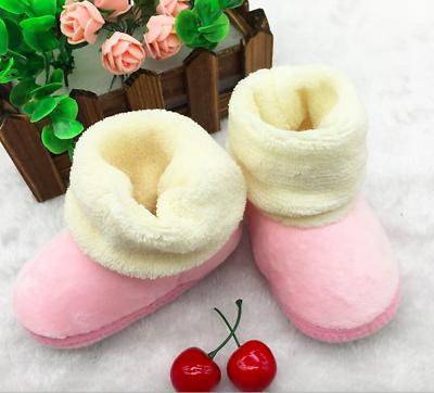Recién nacidos bebé niño niña Botines De Nieve Invierno Botas Suave antideslizante caliente de invierno