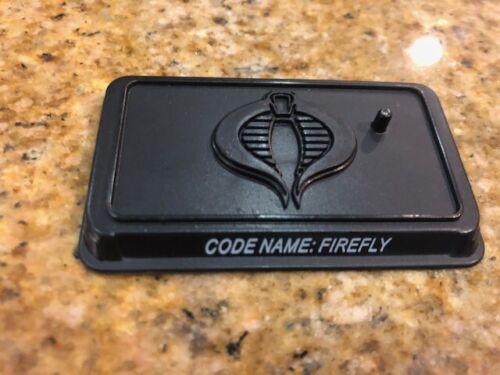 GI Joe 25th Ann Figure Stand Cobra figure le nom de code Firefly