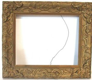 ANTIQUE   GREAT QUALITY GILT FRAME FOR PAINTING  10  X 8  INCH  (a-4)