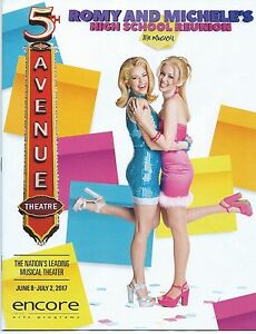 e534432752d2 ROMY AND MICHELE S HIGH SCHOOL REUNION Playbill World Premiere ...