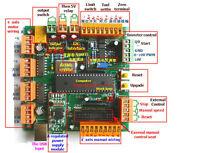 4 axes USB CNC controller CNCUSB USBCNC CNC USB alternative MACH3 USBCNC 2.14 a