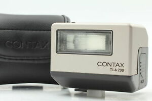 Tested! [Top MINT in Case]  Contax TLA200 Shoe Mount Flash For G1 G2 From JAPAN