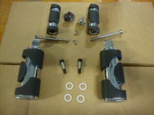 brake toe peg set all 2004-11 models hdw Big Dog Motorcycles OEM chrome shift