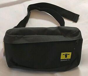1d2ee56424 Image is loading Mens-Reebok-Black-Pouch-Waist-Belt-Bag-Bum-