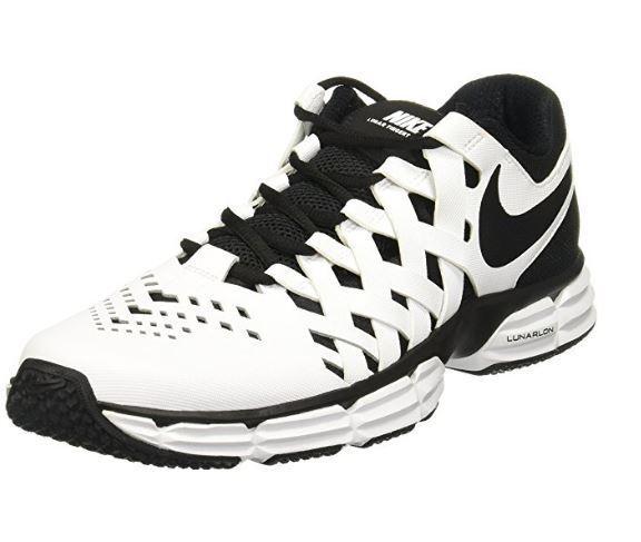 1d7f1f08f5 Men's Nike Fingertrap Training (4E-Wide) White Black 898065 100 shoes Lunar  nfdoou3239-Athletic Shoes