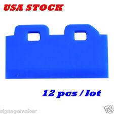 US Stock - 12pcs Blue Mimaki JV33 / JV5 / CJV30 DX5 Solvent Wiper Blade SPA-0134
