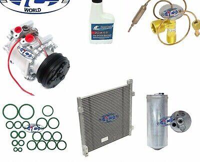 A//C Compressor and Condenser Kit Fits Honda Civic 96-00 L4 1.6L TRS090 Brand New