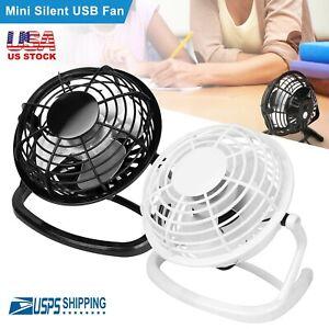 USB-Mini-Ventilateur-de-Bureau-Super-Silencieux-Portable-Air-de-Refroidissement-Refroidisseur-pour