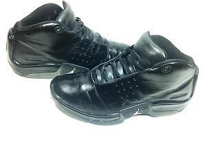 Nike Air Jordan Jumpman FBI Low Profile Black Mens Size 9.5 US.