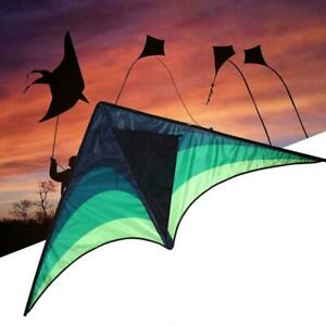 Large-delta-kite-For-kids-and-adults-single-line-easy-kite-fly-include-hand-M2C7
