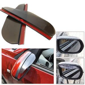 Universal Rear View Side Mirror Rain Board Sun Visor Shade Shield For Car Truck