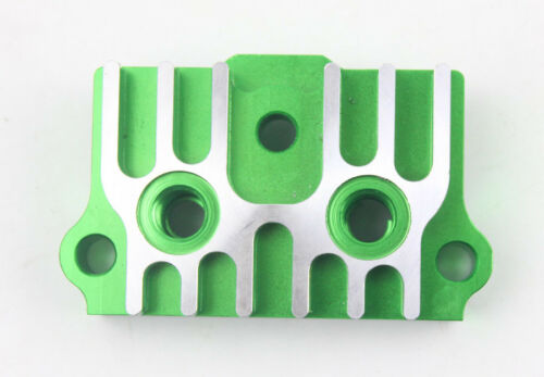 Green CNC Oil Cooler Adapter Plate 50CC-125CC Pit Pro Trail Dirt Bikes ATV Quad