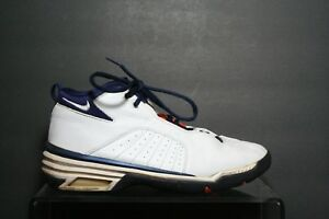 Details about Nike Air Force Jumbrific VTG OG 1999 Multi White Navy Men 9.5 Athletic Hip 90's