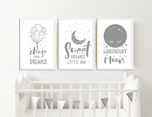 Grey-Nursery-Prints-Boys-Girls-Bedroom-Pictures-Baby-room-decor-ideas-Baby