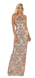 75b2ba7ec8a Image is loading SPECIAL-OCCASION-STRETCH-MESH-FORMAL-GOWN-RED-CARPET-