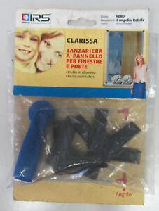 Irs Clarissa Angoli + Rotella Ricambio Zanzariera A Pannello X Finestre E Porte