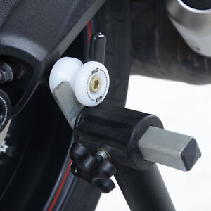 R-amp-G-White-Cotton-Reels-Paddock-Stand-Bobbins-for-Kawasaki-ZX10-R-amp-Suzuki-SV650