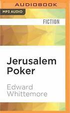 Jerusalem Poker by Edward Whittemore (2016, MP3 CD, Unabridged)