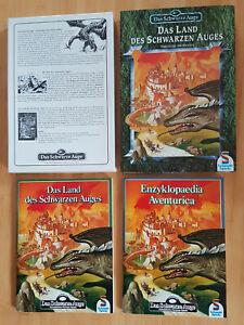 DSA-Box: Das Land des Schwarzen Auges, 2 Hefte, 2 Farbkarten, 2 s/w Karten
