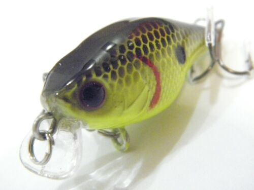 1 1//2 inch 1//8 oz Crankbait Fishing Lures Shallow Water For Bass Fishing C703