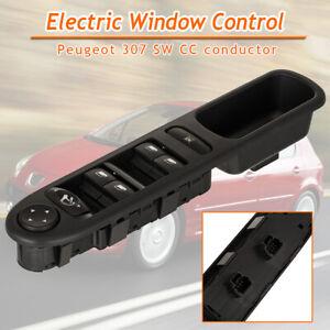 Leve-Vitre-Commande-Commutateur-Interrupteur-Electrique-Pr-Peugeot-307-307SW-G