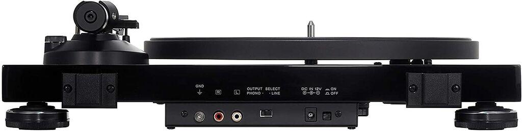 Audio-Technica AT-LPW50PB totalmente manual de 2 velocidades Tocadiscos Impulsión De Correa  | eBay