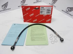 trw lucas stahlflex bremsleitung schwarz oben 320mm ring. Black Bedroom Furniture Sets. Home Design Ideas