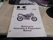 OEM Kawasaki Z750S Assembly & Preparation Manual 2005 ZR750 99931-1446-01