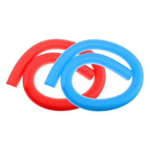 2x flexible Mehrzweck Schwimmnudeln aus weichem LDPE 59 Zoll Hohlschaum für