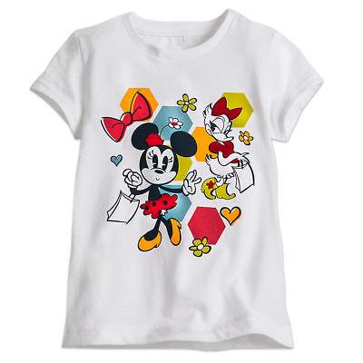 NEW Disney Store Minnie Mouse Tee Shirt Cute As A Pumpkin Girls 2 3 4 7 8 NWT