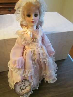 """Vintage By Brand, Company, Character The Best Effanbee 12"""" Doll W/ Tag Vintage Pride Of The South """"mobile""""-euc"""